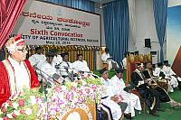 6th Convocation of UAS, Raichur